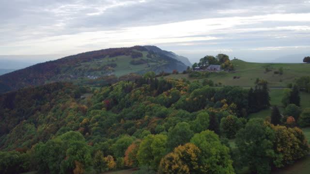 Mt.Salève around Geneva in autumn