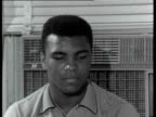 Muhammad Ali interview 'Be ready to fight I'm coming to get you / after I'm through beating him I think he'll have to join the Beatles and become a...