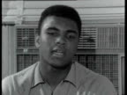 Muhammad Ali interview Don't want to say nothing about that will help me not to say nothing Talks about his rhymes and 'jive' talking / on having to...