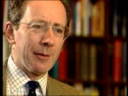 Chinook crash LIB Chinook helicopters in flight Sir Malcolm Rifkind interview SOT Talks of information on dispute with suppliers that should have...