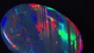 ECU Multi colored opal rotating, Sydney, New South Wales, Australia