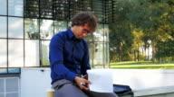 Multi tasking in office park