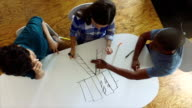 Multi-cultural business team working