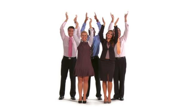 HD: Multi-ethnischen Business-Team