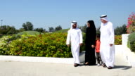 PANNING: Multi-generation Emirati family at the park