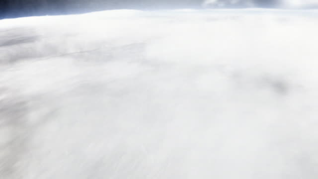 Multiple montage - A camera zooms through the atmosphere and down into the Earth's crust.