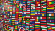 Multiple World Flags