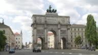 PAN Munich Siegestor and Ludwigstrasse