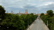 Munich Skyline - View over Maximilian Street