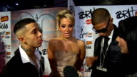 2010 Brit Awards red carpet arrivals NDubz interview SOT Their outfits / nominations / the Brits looking for excuses not to nominate them / being the...
