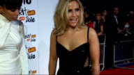 2010 Brit Awards red carpet arrivals Sugababes interview SOT On their outfits / wanting to win a Brit / performances looking forward to / Robbie...