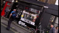 Adam Ant interview on Record Store Day ENGLAND London Soho EXT Exterior of Phonica record store / exterior of BM Music record shop / sign 'BM Music'...