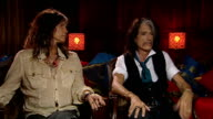 'Aerosmith' interview Tyler and Perry interview SOT on collaborations in album Johnny Depp on touring experience on being in London haven't been out...