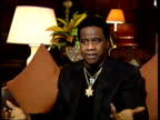 Al Green interview Green interview SOT Thinks Willie Mitchell is going senile / On microphone that he uses / On his band felt like family reunion /...