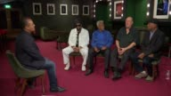 Artists from the Stax record label perform 50 years after iconic tour Cropper interview continues SOT Cropper sat with Bell Floyd and Jones