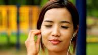 Music Asian girl