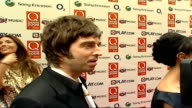 Q Music Awards INT Noel Gallagher speaks to press SOT Discusses attending Q awards 'Sorts the men out from the boys it's allday drinking'