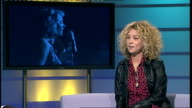 Beth Rowley interview ENGLAND London GIR INT Beth Rowley studio interview SOT on being compared to other great singers saying she likes gospel...