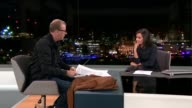 Blur's drummer Dave Rowntree holds auction to raise money for Syrian refugees ENGLAND London GIR INT Dave Rowntree LIVE interview SOT [Including...