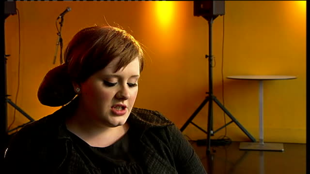 Brit awards nominations Adele interview SOT