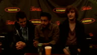 day 2 of Reading Festival 2009 interviews Kids in Glass Houses interview SOT comment on Oasis splitting up Michael Jackson death on their forthcoming...