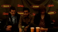 day 2 of Reading Festival 2009 interviews Kids in Glass Houses interview SOT talk about their album and how supportive the label is saying as long as...
