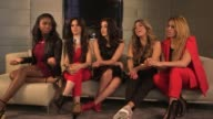 Fifth Harmony interview ENGLAND London INT Fifth Harmony interview SOT