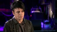 Gary Numan interview Gary Numan interview SOT re Trump election climate change CUTAWAYS reporter