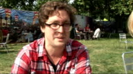 Hard Rock Calling festival in Hyde Park celebrity interviews Tom Gray interview SOT On their plans after Hard Rock Calling / Pearl Jam / going to...