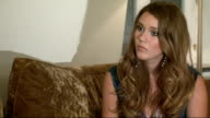interview with Joss Stone Joss Stone interview SOT How easy it was to do make an album how no one needs a million dollars to make an album / Being a...