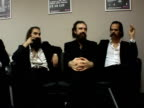 interview with members of Grinderman On building a lineup for music festival festival experiences Glastonbury not having time recording new Bad Seeds...