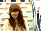 Isle of Wight Festival 2007 backstage photocalls and interviews Melanie Chisholm interview SOT On how the gig went sharing the stage with the Stones...
