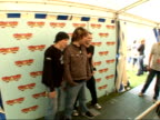 Isle of Wight Festival 2007 backstage photocalls and interviews Photocall with members of rock group Koopa Ollie Cooper Joe Murphy and Stu Cooper Stu...
