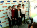 Isle of Wight Festival 2007 backstage photocalls and interviews ENGLAND Isle of Wight Seaclose Park PHOTOGRAPHY *** Members of The Feeling Dan...