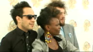 Isle of Wight Festival interviews Noisettes photocall and interview SOT On playing the festival for the first time / on the history of the festival...