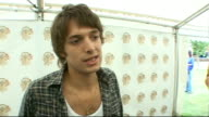 Isle of Wight Festival interviews Paolo Nutini photocall and interview SOT How charting at number 1 feels / Importance of chart position / What he'll...