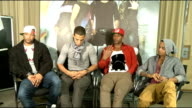 JLS interview JLS interview SOT On the Amy Winehouse album it would have been what she wanted / Oritse put a dedication on the album to her /...