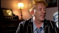 John Lydon takes Public Image Limited on tour John Lydon interview SOT On appearing on 'I'm A Celebrity Get Me Out of Here' / On being proud to...