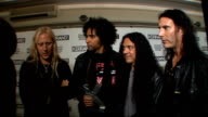 Kerrang Awards 2009 interviews and general views Jerry Cantrell and William DuVall Mike Inez and Sean Kinney interviewed SOT On winning the Icon...