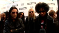 Kerrang Awards 2009 interviews and general views Sean Kinney Mike Inez Jerry Cantrell and William DuVall interviewed SOT On being invited and being...