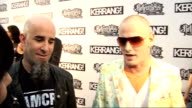 Kerrang Awards 2010 interviews pre and postceremony Corey Taylor interview with Scott Ian beside SOT Actually make a really cool macaroni knecklace I...