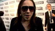 Kerrang Awards 2010 interviews pre and postceremony General views Bullet For My Valentine posing for photocall as arrive at awards ceremony and speak...