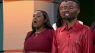 London Community Gospel Choir ENGLAND London GIR INT London Community Gospel Choir perform Christmas carols 'Silent Night' and 'Joy to the World' in...
