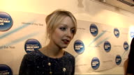 Mercury Award nominations ENGLAND London INT Lauren Laverne interview SOT Really strong year / Love the Mercury Prize just about great music not...