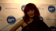 Mercury Award nominations Florence and the Machine interview SOT Amazingto be nominated and really happy / Winning Brit award was like being chucked...