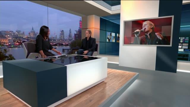 Michael Bolton interview ENGLAND London GIR INT Michael Bolton LIVE interview SOT
