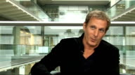 Michael Bolton interview Michael Bolton interview SOT On being single / On his dream woman Genearl views Michael Bolton