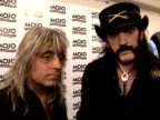 Mojo Awards 2008 ceremony celebrity photocalls and interviews Lemmy and Mikkey Dee interview SOT On winning Mojo Hero award / Recording new album in...