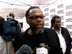 Mojo Awards 2008 ceremony celebrity photocalls and interviews Jazzie B along red carpet Jazzie B interview SOT Presenting Mojo award