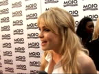 Mojo Awards 2008 ceremony celebrity photocalls and interviews Duffy speaking to reporter Duffy interview SOT Summer is coming it's going to be good /...